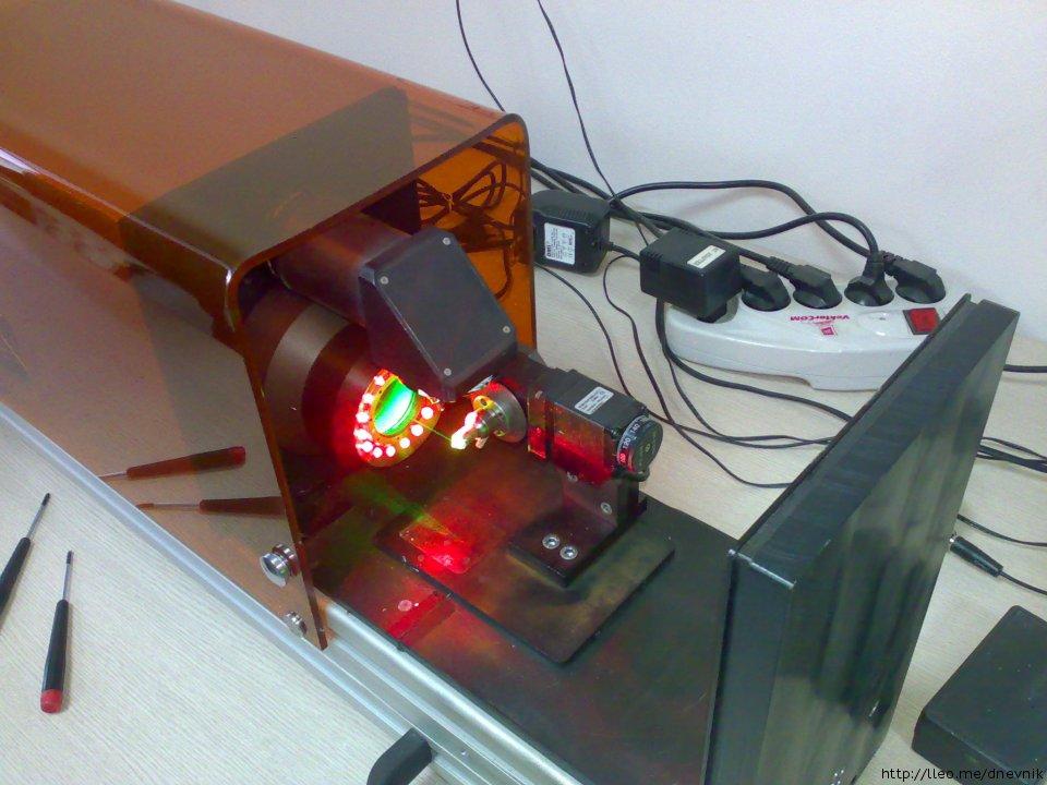 Co2 лазер в домашних условиях